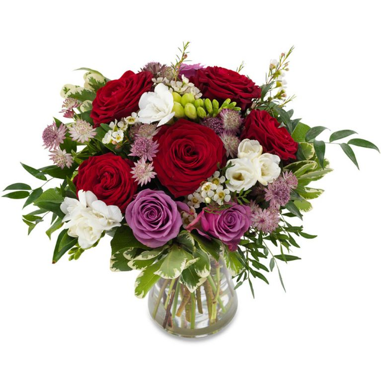 Bouquet rose e fresie 2